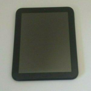 Tableta HP TouchPad Computadora portátil negra no probada Sin accesorios usados