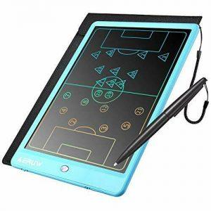 Tableta de escritura LCD colorida Oficina electrónica del cojín del Doodle del tablero de dibujo de 10 pulgadas