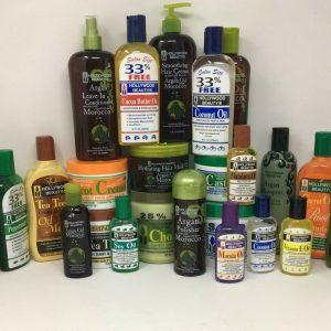 Tamaño del salón de belleza de Hollywood 33% productos sin aceite