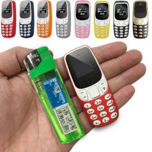 Teléfono Celular Bluetooth GSM Mini Pequeño L8STAR BM10 Teclado Dual SIM Pocket Mobile P