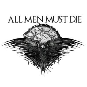 Todos los hombres deben morir Game of Thrones Sticker, Car, Laptop, Phone, Wall Art Decal