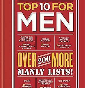 Top 10 para hombres: ¡más de 200 listas masculinas más !, Harper, Nick, Used;  Buen libro