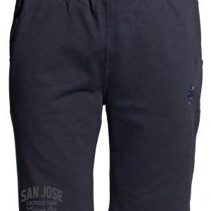 Übergrößen!  Sweat Short AHORN SPORTWEAR azul oscuro San Jose grau