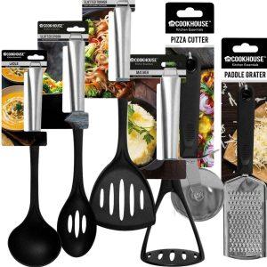 Utensilios de cocina Elementos esenciales de cocina Electrodomésticos de alta calidad de acero inoxidable