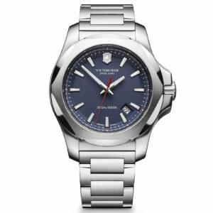 Victorinox Swiss Army Men's Watch I.N.O.X. Blue Dial 241724.1 Authorized Dealer