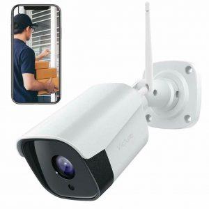 Victure Security Outdoor Camera 1080P WiFi resistente a la intemperie Cámara CCTV Visión nocturna