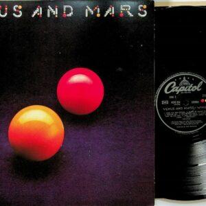 WINGS- Venus and Mars LP (UK Vinyl NM) 2U / 1U +2 Posters y pegatinas The Beatles