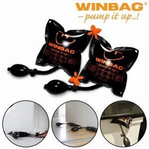 Winbag Connect Pump Up Air Bag Shim Wedge para electrodomésticos de cocina y electrodomésticos