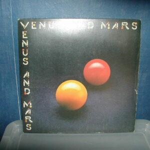Wings-Venus and Mars LP 1975 inc 2 carteles, interior y 2 pegatinas
