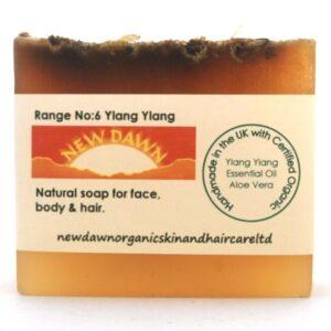 YLANG YLANG SOAP BAR - New Dawn Productos orgánicos hechos a mano para el cuidado de la piel y el cabello veganos