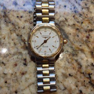reloj de mujer longines conquest