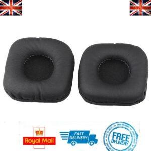 x2 almohadillas de repuesto para auriculares Marshall Major II / III Cojín de espuma negro