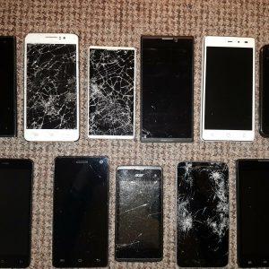 11X Various Smartphones - UNTESTED/ SPARES/ REPAIRS/ JOBLOT/ BUNDLE