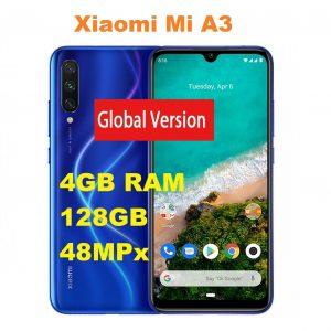 "4+128GB Xiaomi Mi A3 6,1"" Amoled 4GB RAM Smartphone Movil Libre Android"