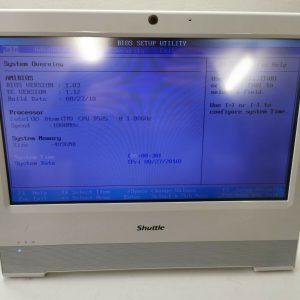 """Shuttle All-in-One X50V2 Plus Atom D525 2x1,8Ghz 4GB RAM/Wi-Fi/15,6"""" 500GB HDD"""