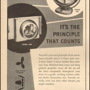 1954 Vintage ad for Vornado`retro Air conditioners`images    (082818)