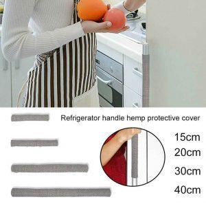 1pair Reusable Electrical Kitchen Appliances Refrigerator Door Soft Handle Cover