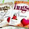 2 New Inspirational books - HUGS for Women & HUGS for those in Love