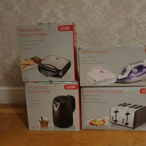 4 Peice Logik Kitchen Appliances