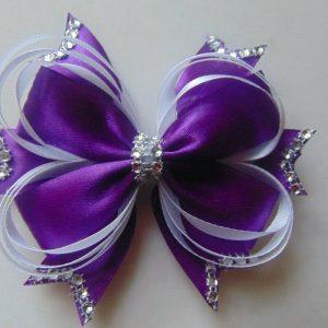 5 inch  12.5cm Hair Bow medium Dance Moms girls hair clips kids
