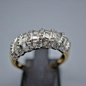 9ct Fancy Diamond Ring