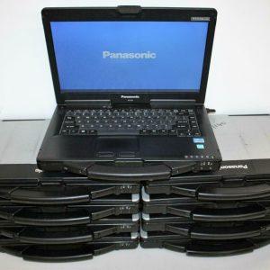 9x Lot Panasonic Toughbook CF-53 Intel Core i5 3rd 2.6GHz 2GB MK2 DVD ALL POWER