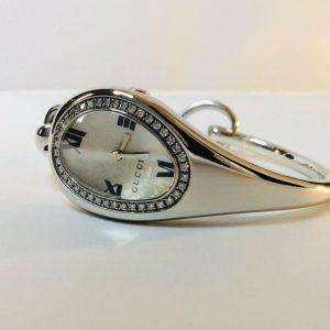 AUTH  GUCCI DIAMOND WATCH BANGLE YA103 (SERIAL NO.10620998)