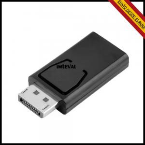 Adaptador DisplayPort macho a HDMI hembra DP Display Port  monitor Full HD
