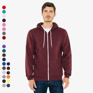 American Apparel - Unisex Flex Fleece Zip Hoodie | Sweatjacke | XS bis XXL