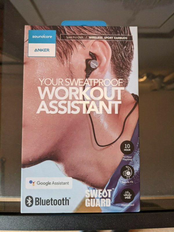 Anker Soundcore Spirit Pro A3404 Bluetooth Earphones Wireless Headphones Black