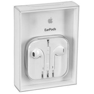 Apple EarPods Kopfhörer Headset Earphones weiß MNHF2ZM/A