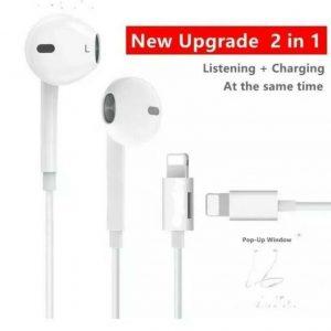 Apple iPhone 12  7 8 Lightning Headphones EarPhones Handsfree Bluetooth with mic