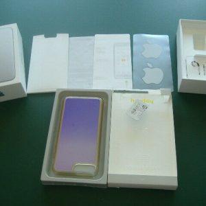 Apple iPhone 7 PLUS Original Box , Stickers Ear Phones Case & Paperwork NO PHONE