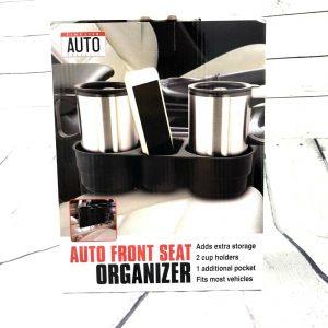 Auto Car Front Seat Organizer Storage Holder Auto Accessories Adds Extra Storag