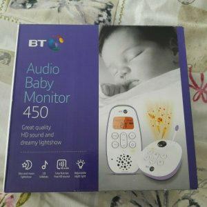 BT Audio Digital Baby / Child / Toddler / Kids Monitor 450 Lightshow BRAND NEW