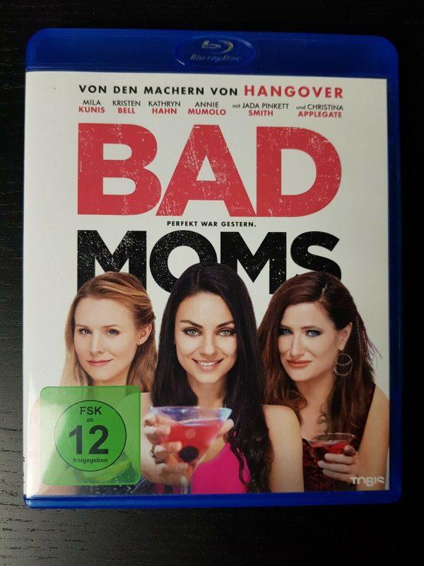 Bad Moms Blu Ray - 2016 - Wie Neu - Mila Kunis - Kristen Bell