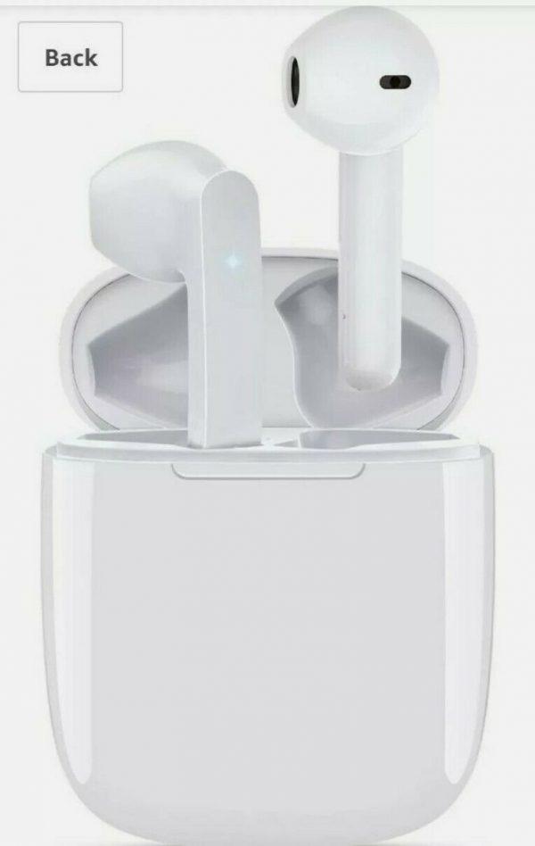 Balhvit Touch Control Wireless Earbuds Headphones, HiFi Stereo 5.0 Bluetooth Hea
