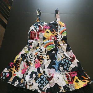 Banned apparel, rockabilly Dress Festival, Party Fun Dress Medium 10