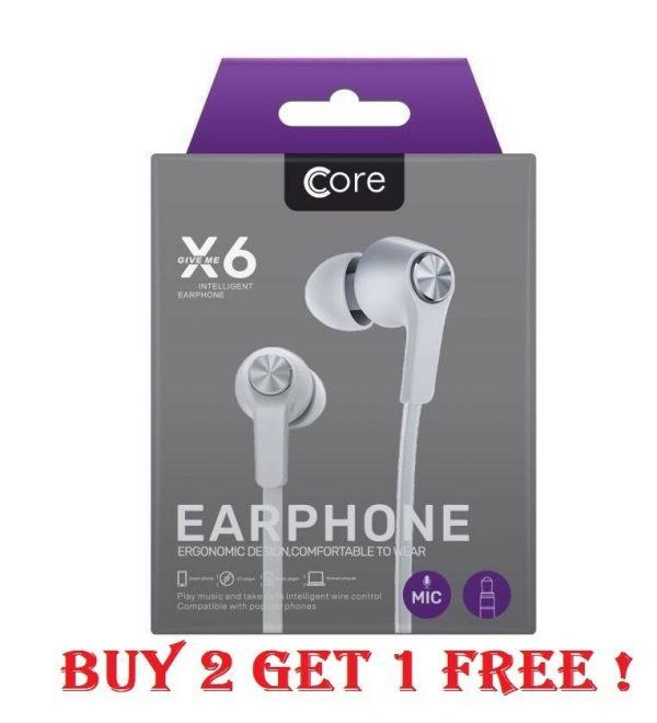 Bass Stereo Earphones for Apple iPhone 6 SAMSUNG 7 In Ear Handsfree Headphones