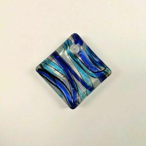 Beautiful Dichroic Glass Pendant