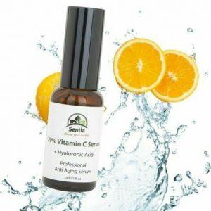 Best Vitamin C, E + Collagen + Hyaluronic Acid. Anti Aging Ageing Face Serum