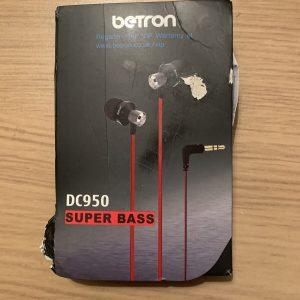Betron DC950 Super Bass Headphones / Earphones