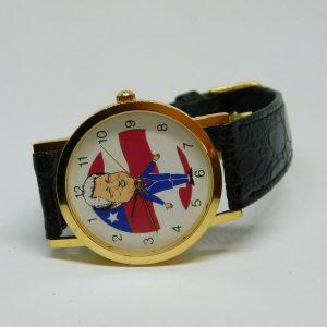 Bill Clinton Genuine Leather Quartz Analog Ladies Watch