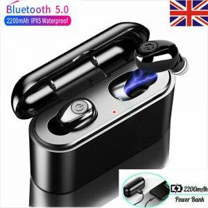 Bluetooth 5.0 headset earbuds wireless in-ear earphones headphones IOS android