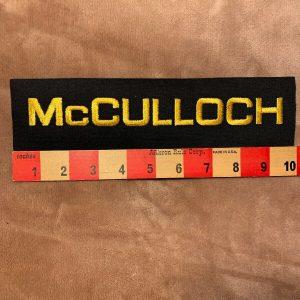 Borderless MCCULLOCH Lawn & Garden Equipment Fairly Large Patch 77M