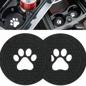 BukNikis Cup Holder Coasters-Car Interior Accessories 2.75 inch Silicone