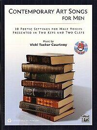 CONTEMPORARY ART SONGS FOR MEN Book & CD