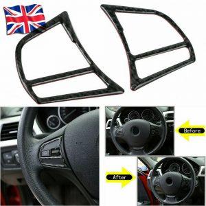 Car Steering Wheel Trim Interior Accessories For BMW 3 Series F30 F31 320d 335i