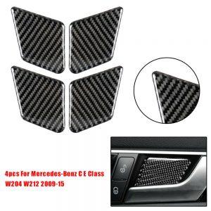 Car Sticker Bowl For Mercedes-Benz C E Class W204 W212 2009-15 Accessories