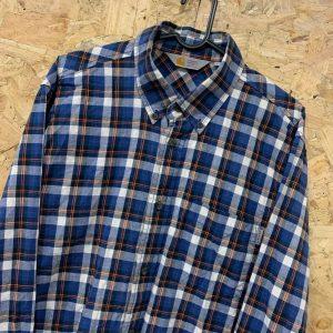 Carhartt Rugged Outdoor Wear Check Long Sleeve Danford Shirt Large L